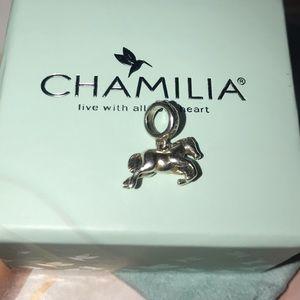 Chamilia Horse charm with Swarvoski crystals!